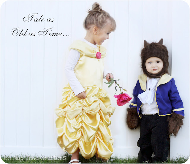 Beauty and the Beast Costumes by Peek a Boo Pages