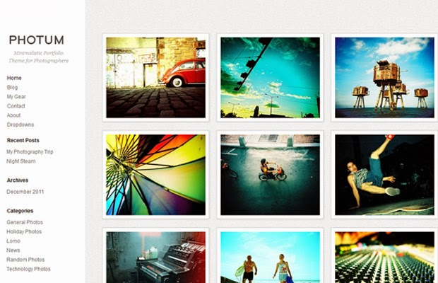 25 Beautiful Flat and Free WordPress Themes