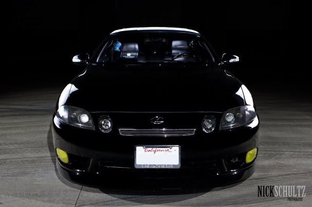 Lexus SC, design japońskich samochodów, auta z lat 90
