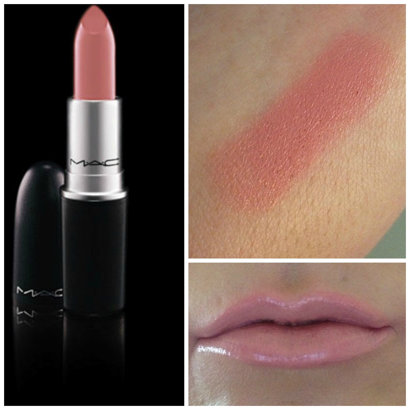 My Favourite Lipsticks from MAC | KELLiLASH Mac Light Pink Lipstick