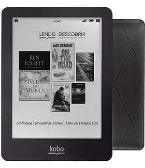 Kobo Glo em 10X de R$39,90
