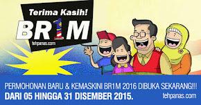 Thumbnail image for Pendaftaran & Kemaskini BR1M 2016 Bermula 5 Hingga 31 Disember