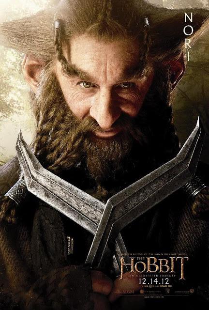 The Hobbit, character poster, Nori