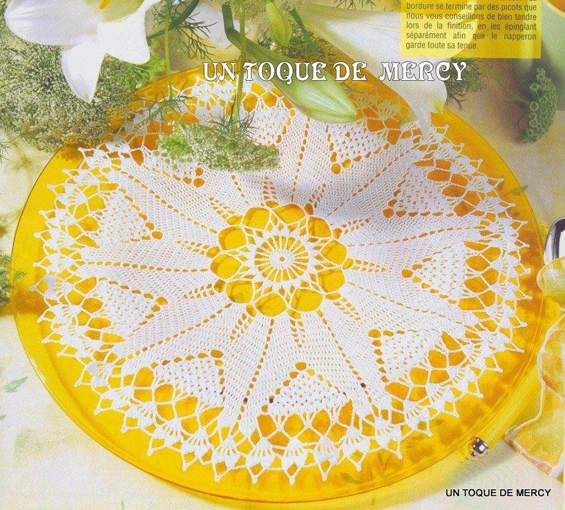 Set De Baño Drapeado:Un Toque De Mercy Tapetes De Crochet Con Graficos