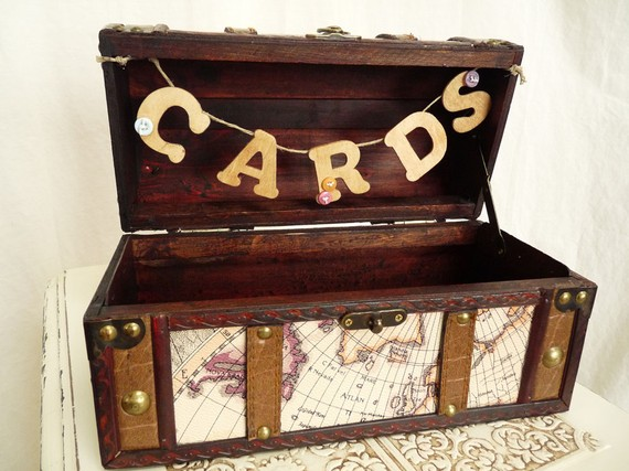 A Place for Cards wedding card box decor nyc southern california Cards
