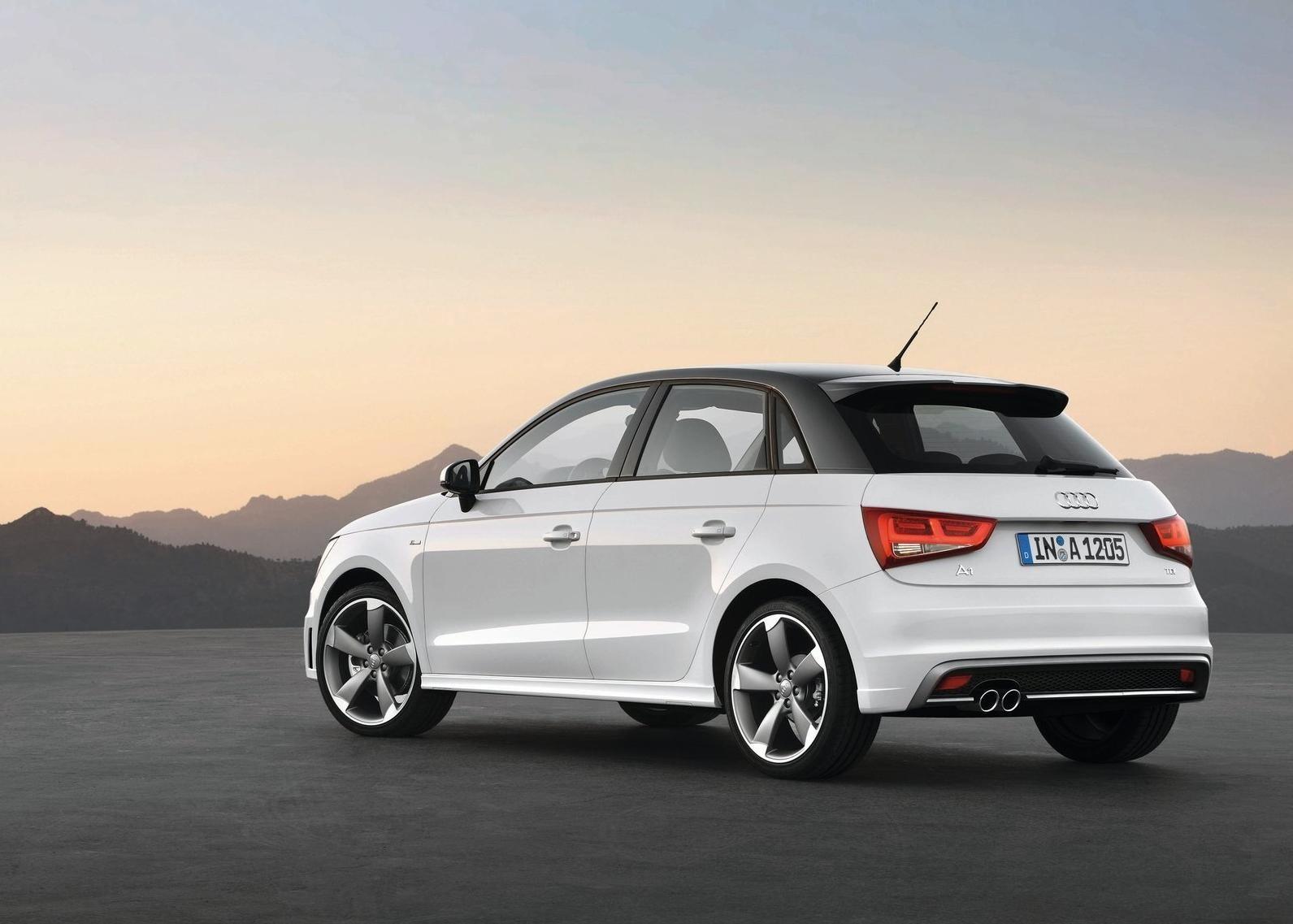 Audi A1 Sportback 2012 Wallpaper