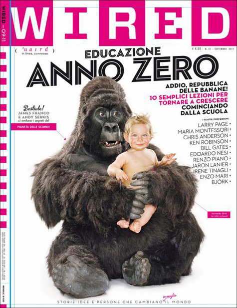 Wired Gorilla Cover