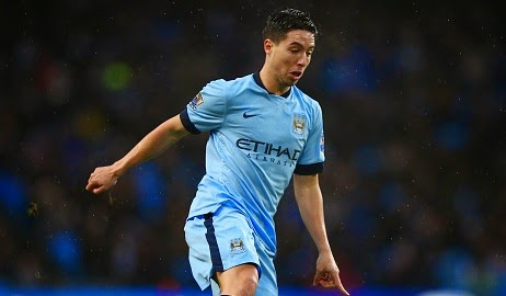 Manchester City's Samir Nasri suffers injury