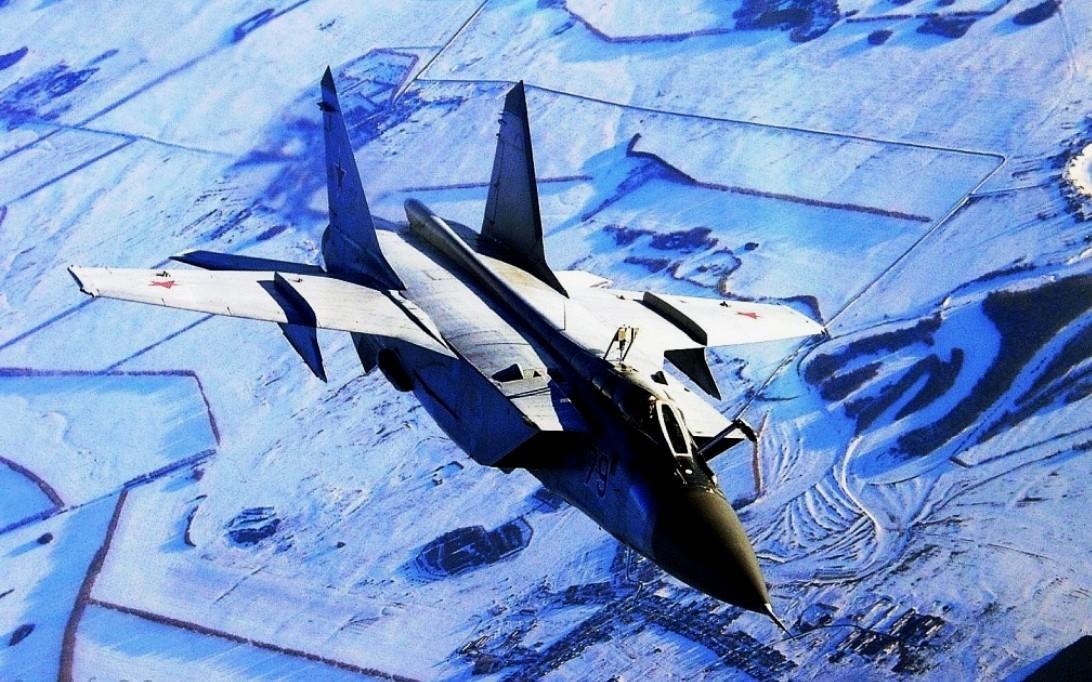 MiG-31 Foxhound jet fighter wallpaper 1