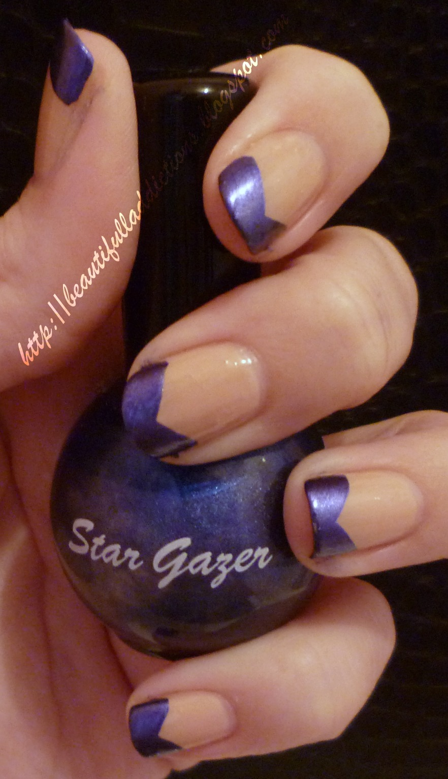 Beautiful Addictions: NOTD: Alternative French Manicure With ...