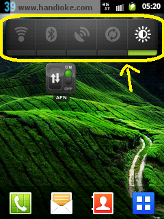 Widget Power Control