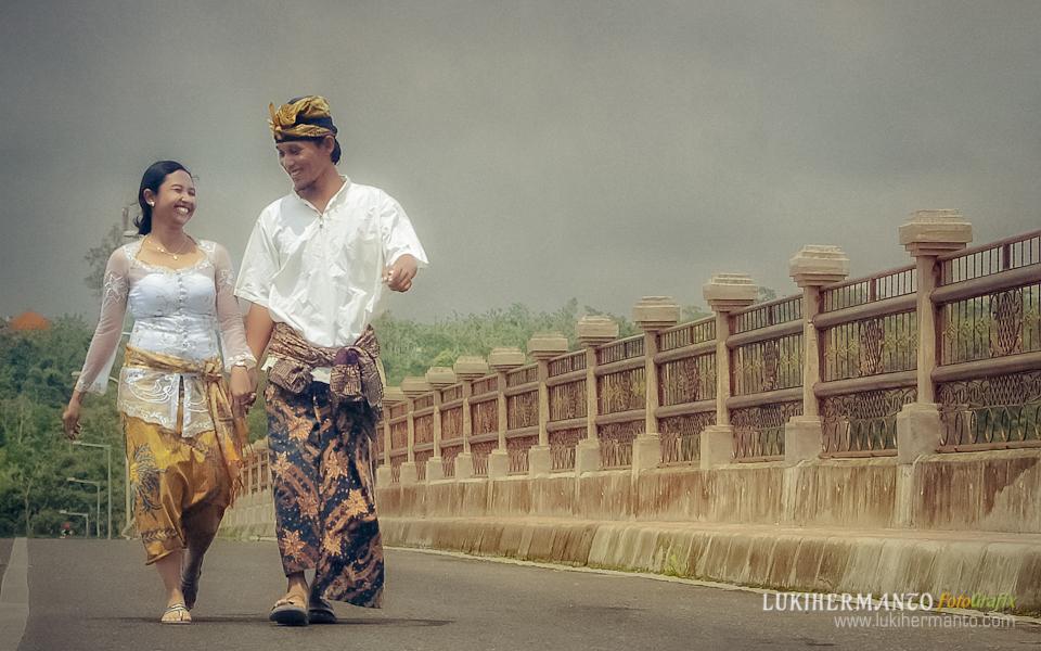 Foto prewedding di Bali