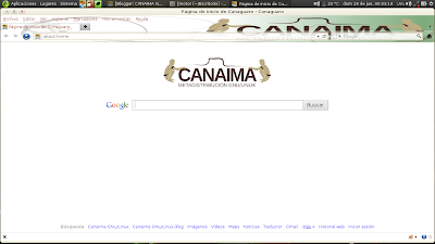 Página de Inicio de Cunaguaro