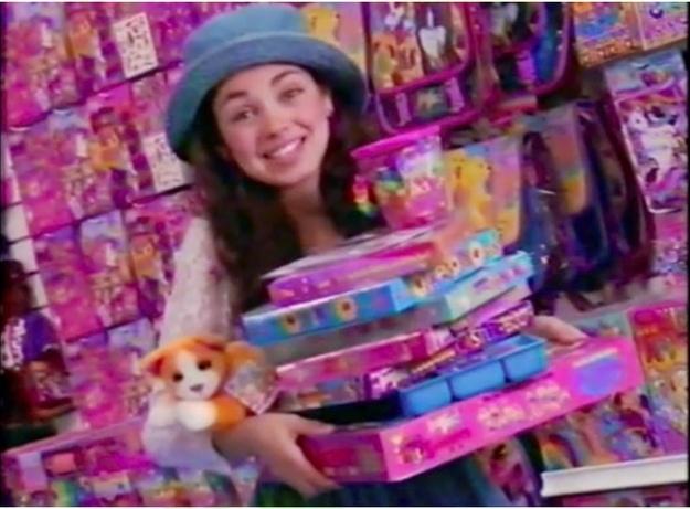 Персона. Мила Кунис в рекламе игрушек Lisa Frank (1993)
