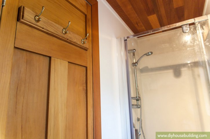 186 sq ft new zealand tiny house shower