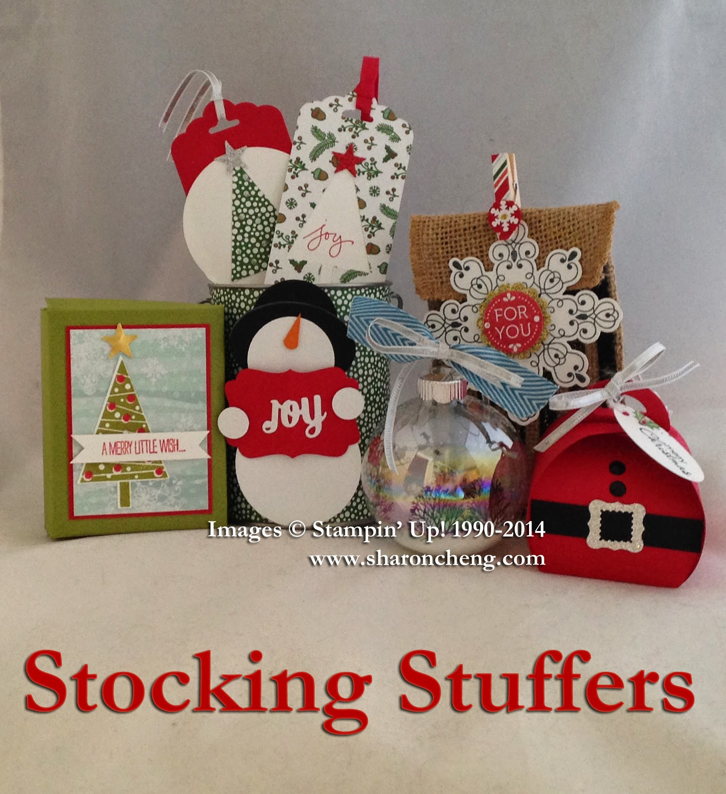 Sharing Creativity And Company Christmas Stocking Stuffers