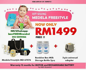 MEDELA FREESTYLE CRAZY PROMO
