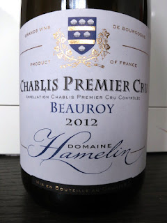 Domaine Hamelin Beauroy Chablis 1er Cru 2012 - AC, Burgundy, France (91 pts)