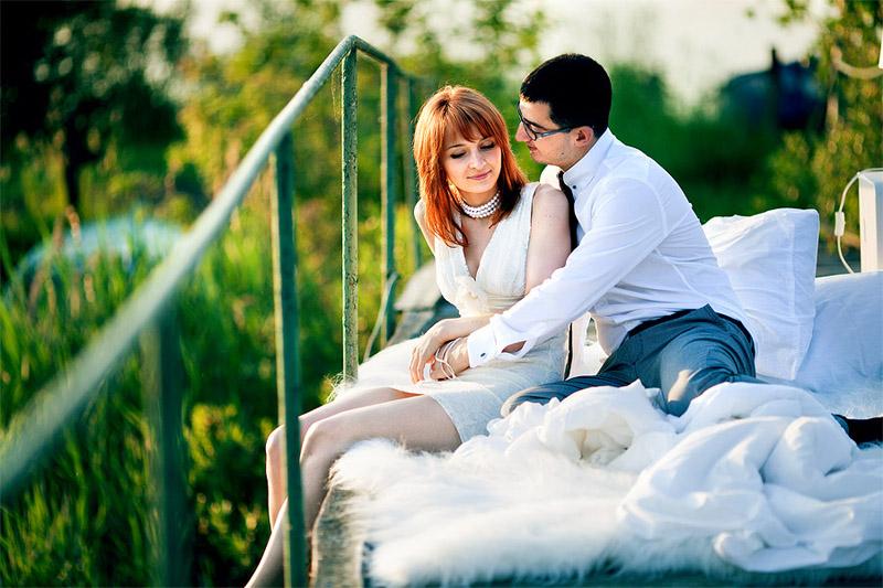 необычная свадьба минск