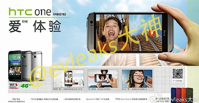 HTC One M8 Eye lộ ảnh báo chí