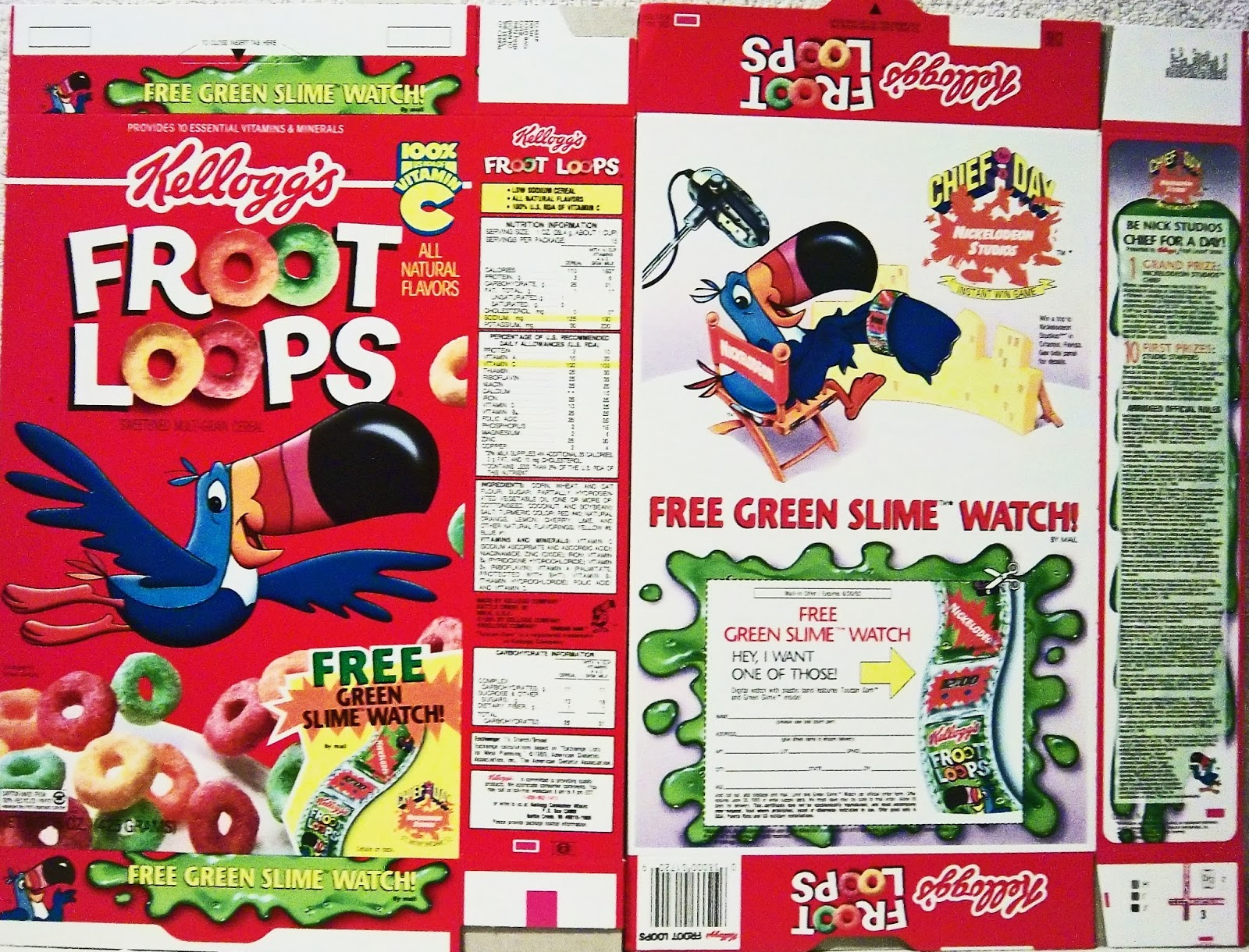 Cereal box template cake ideas and designs