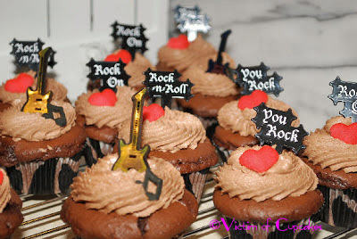 Rock & Roll Cupcakes