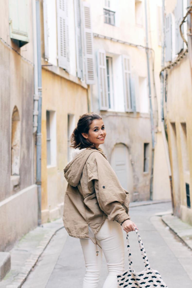 Aix En Provence Collage Vintage