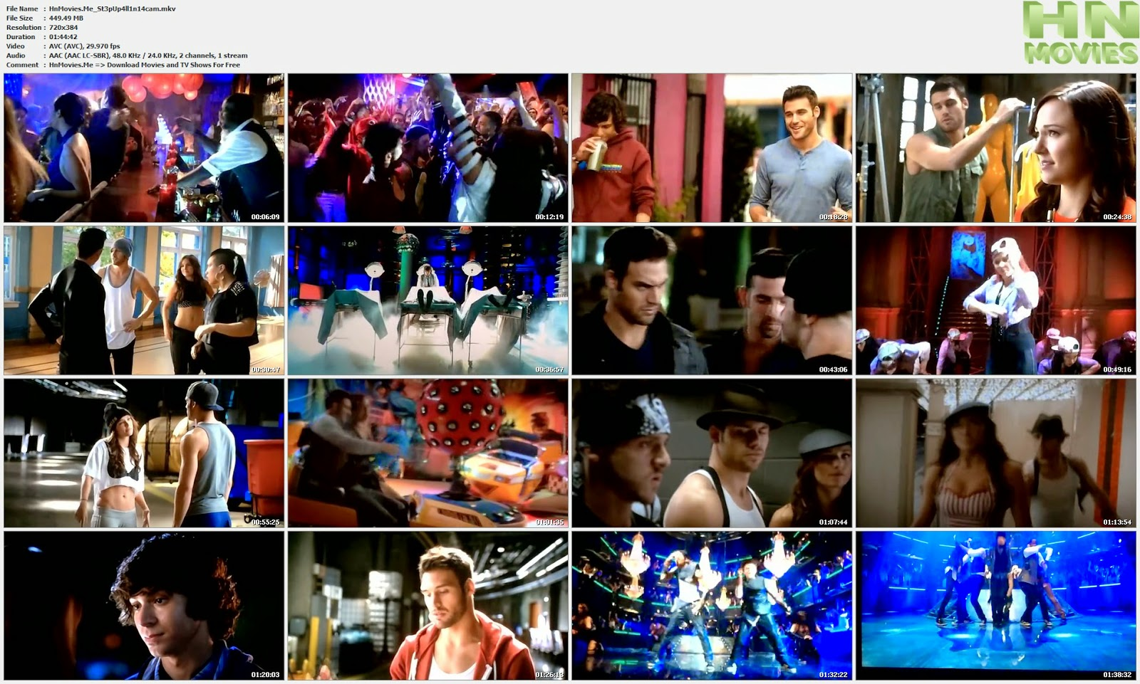 movie screenshot of Step Up All In fdmovie.com