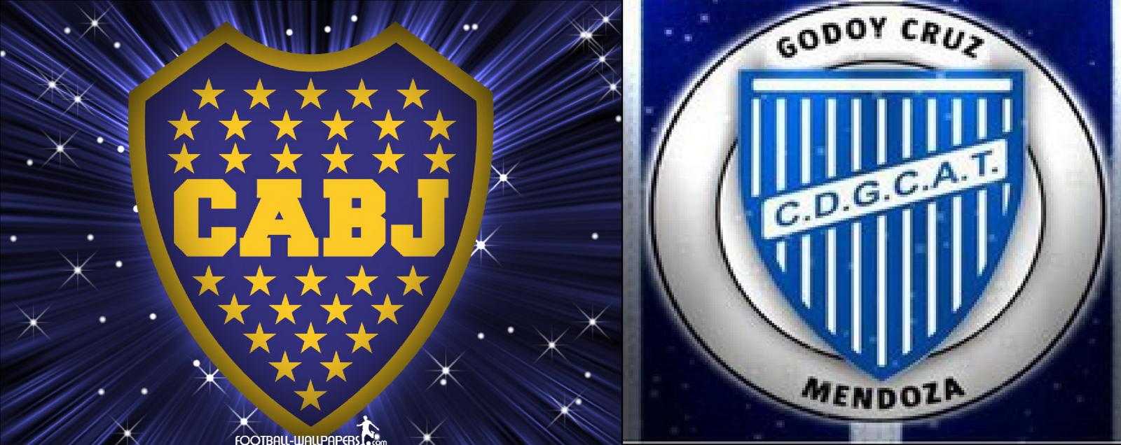 Boca 2 Godoy Cruz 0 (Penal Dudoso)