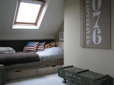 Inspiratie stoere jongens kamers - Jongens kamer decoratie ideeen ...