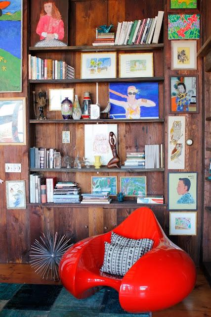 amagansett, nanette lepore, athena calderone, beach house, New York, vintage, surf shack,chandelier, Déco, déco bohème, vintage,