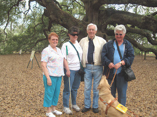 Anna Lee, Laurel, Tarrell, Audrey and Jesse at Angel Oak