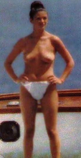 Catherine zeta jones topless