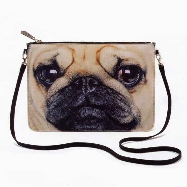 Jellycat Catseye Pug Shoulder Bag