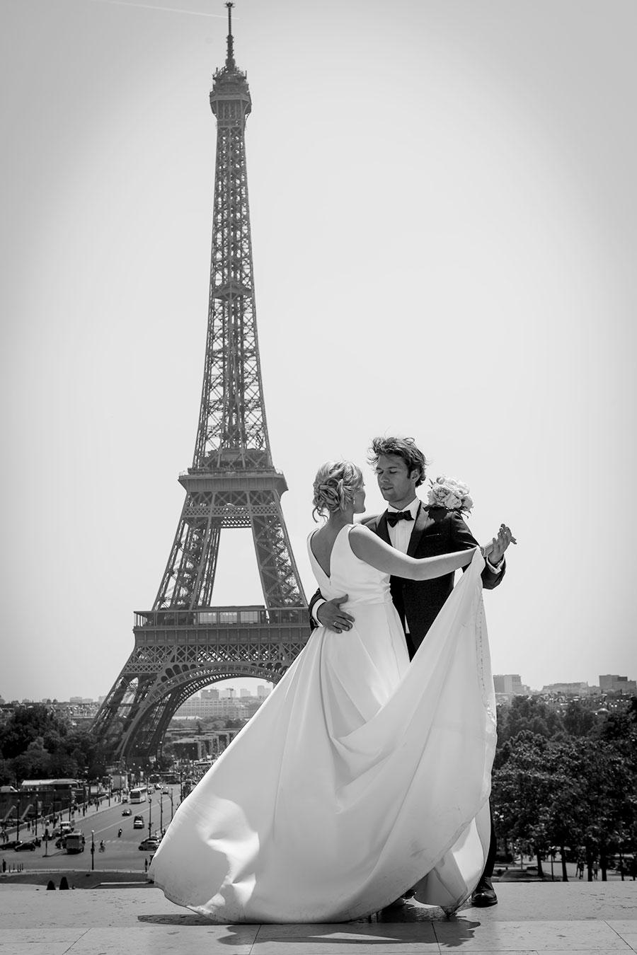 norskt bryllup i paris