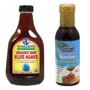 agave nectar vs coconut nectar