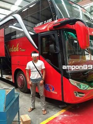 info medan, armada baru bus simpati aceh medan double decker 2015