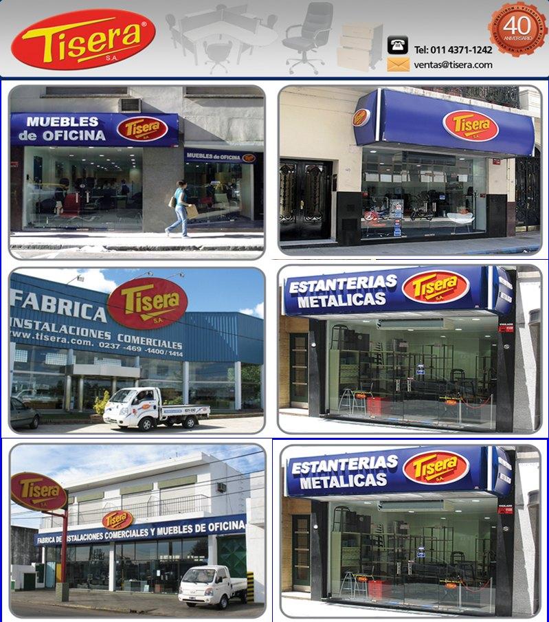 Tisera muebles de oficina 2011 for Muebles de oficina sarmiento 1400