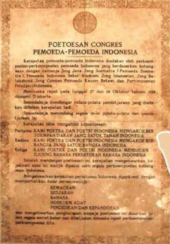 Makna & Sejarah Nakah Teks Sumpah Pemuda 1928