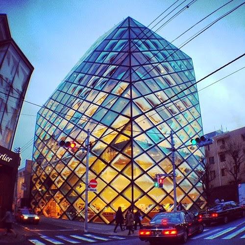 Boutique Prada Aoyama, Tokio, Herzog de Meuron