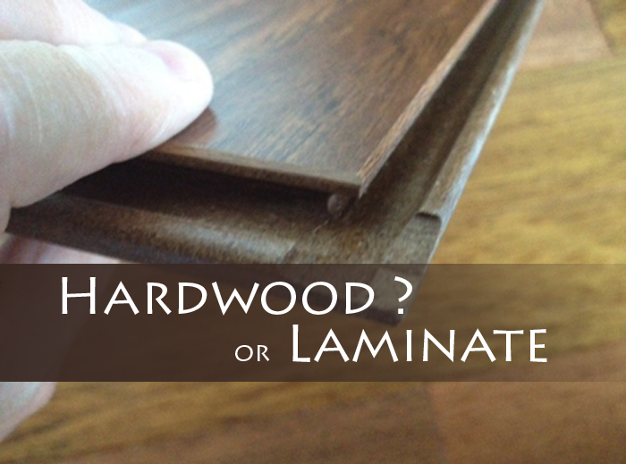 Hardwood Flooring vs. Engineered Hardwood vs. Laminate Flooring--How to  Tell the Difference