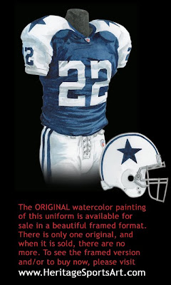 Dallas Cowboys 2004 uniform