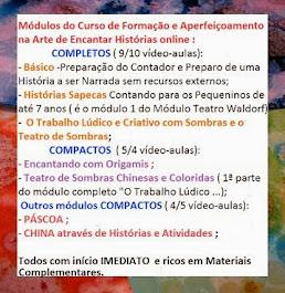 Cursos Online - informações :