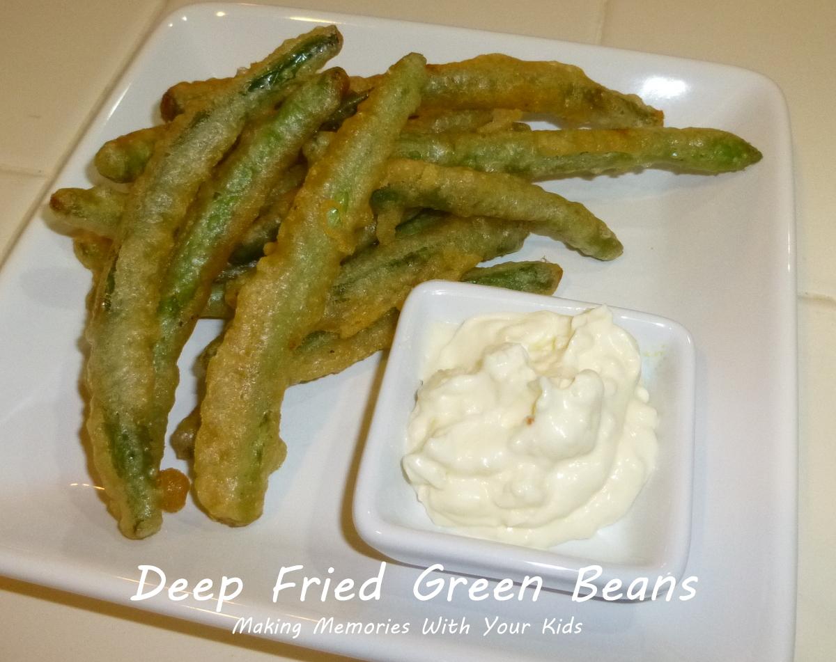 Deep Fried Green Beans with Garlic Aioli {Secret Recipe Club} - Making ...