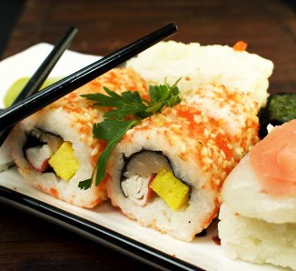 foto de unos sushi para ilustrar