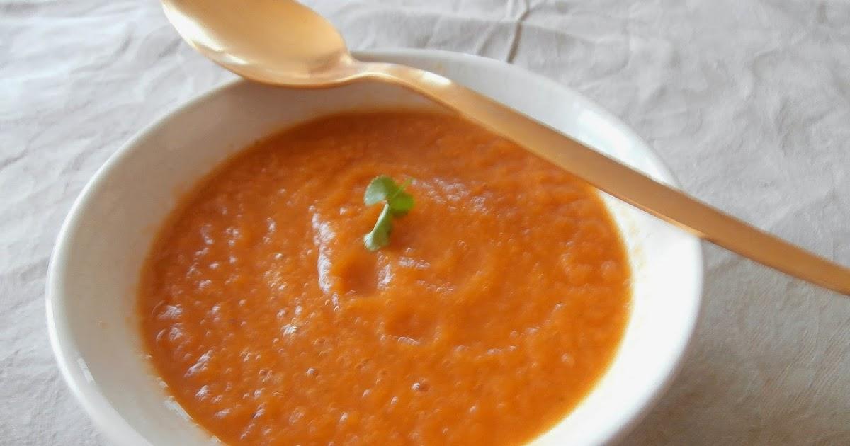 my culinary curriculum soupe de carotte coriandre curry. Black Bedroom Furniture Sets. Home Design Ideas