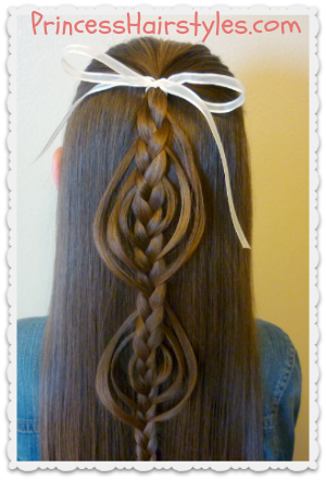Cookie Cutter Braid Tutorial
