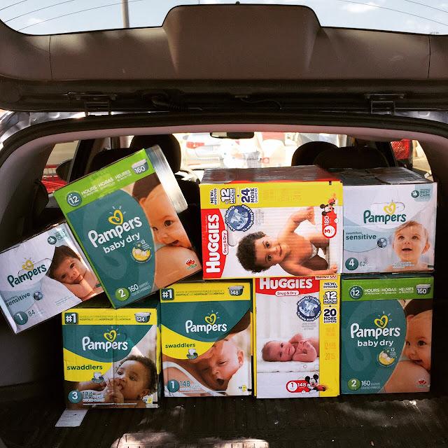 huggies pampers target baby sale 2015