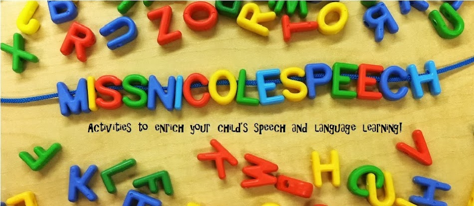 Speech Therapy with Miss Nicole
