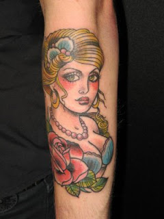 Marija Asanovski Blonde Tattoo Design